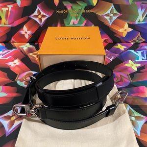 ♟🖤♣️Authentic Louis Vuitton Bandouliere Strap